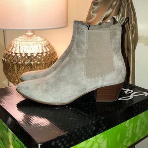 Sam Edelman Taupe Suede Boots